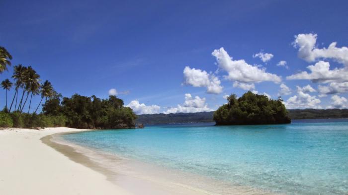 Keunikan Pantai Kilo Lima Luwuk Kabupaten Banggai Sulawesi Tengah Wisata Alam Sulawesi Tengah